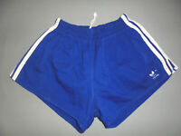 vintage german 70s Adidas Sprinter Baumwolle shorts oldschool sport hose D8 L