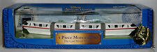 Disney Attractions Collection 4 Piece Monorail Set Die Cast Metal Vehicle