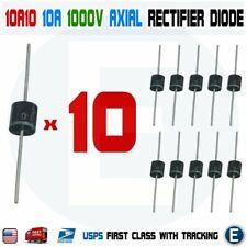 10PCS 10A10 1000V 10A 1KV Axial Rectifier Diode 10 AMP solar panel USA