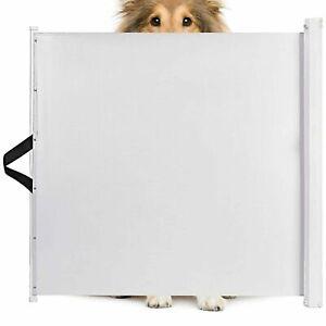 Retractable Pet Safety Gate Folding Stair Barrier Guard Door Indoor&Outdoor UK
