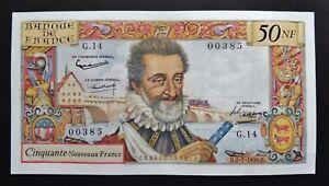 """50 N.Francs """"Henri IV"""" - 2 juillet 1959"""