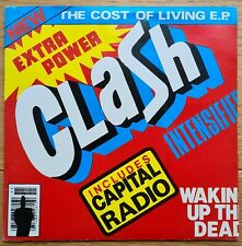 """The Clash - The Cost Of Living EP Original 1979 Vinyl 7"""" Record"""
