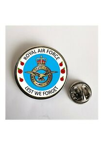 Royal Air Force RAF Lest We Forget  lapel pin badge / Key Ring  / Fridge Magnet