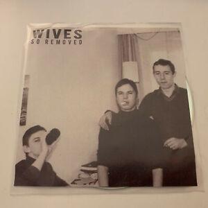 WIVES - So Removed. Rare 11-track promo CD 2019