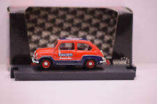 FIAT 600 COMMERCIALE RAMAZZOTTI 1960 BRUMM 1/43 NEUVE EN BOITE REF R285