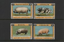 Germany Farm Animal Products advertising poster stamps