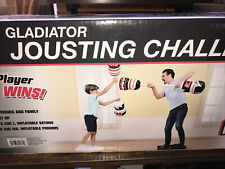 Md Sports Gladiator Jousting Challenge-Inflatable batons and podiums