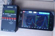 Mini60 HF ANT SWR Antenna Analyzer Meter +Bluetooth Android verison PC Software
