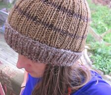 Hand Knitted men's/ladies beanie, warm hat for the winter