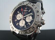 Breitling Chronomat GMT automatisch 47mm Edelstal Armbanduhr Ab0413b9/bd17