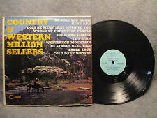33 RPM LP Record Country & Western Million Sellers Coronet Records CX-248 EXC