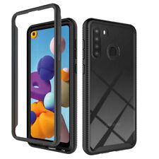 For Samsung Galaxy A21 Case Shockproof Bumper Hybrid Rugged Slim TPU Phone Cover