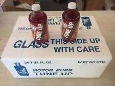 Case of 24 Bottles of Motor Purr Tune Up with accessories