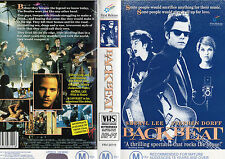 BACKBEAT-Stephen Dorff & Sheryl Lee-VHS-PAL - NEW - NEVER PLAYED!! - VERY RARE!