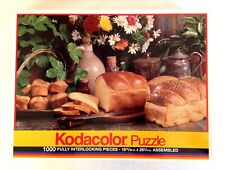 Kodacolor 1000 Pieces Jigsaw Puzzle Fresh Bread by Rose Art, 1991