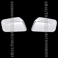 2 Chrome Top HALF Mirror Covers Pair Chromed For 2007 2008 2009 2010 FORD Edge