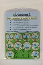Golf Dad Gifts -Golf's Wager & Drinking Game Free Shipping