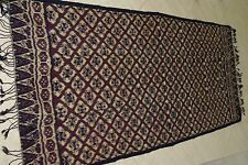 "TORAJA UNIQUE GEOMETRIC DESIGN TABLE WALL DECOR IKAT 82""x 31"" LIQUIDATION RUN2A"