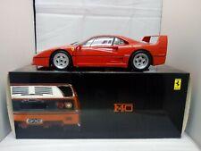 Kyosho 1/12 Scale - 08602A Ferrari F40 Rosso Red !