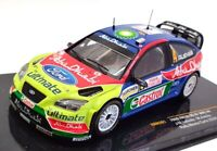 IXO Models 1/43 Scale RAM301 - Ford Focus RS 07 WRC #4 Rally Monte Carlo 2008