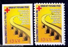 Red Cross, Bosnia 2006 MNH Perf+ Imperf -  Rc01