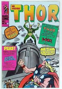 Thor Nr. 3 sehr gut / Z: 1 Marvel - Williams Verlag ab 1974