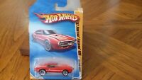 HOT WHEELS 2010 NEW MODELS '67 PONTIAC FIREBIRD 400 RED 3/44 RARE Lot#FB013
