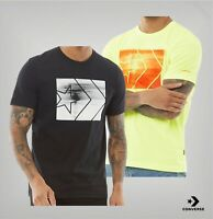 Mens Converse Printed Logo Short Sleeve Jersey T Shirt Sizes from S to XXL