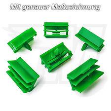5x Zierleisten Verkleidungsclips Befestigung Halterung für BMW | 51717066223