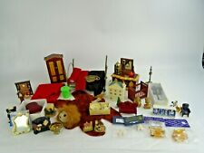 Job Lot of Vintage Dolls House Furniture and Accessories