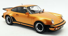 Minichamps 1/12 Scale Model Car 125 066110 - 1977 Porsche 911 Turbo - Met Orange