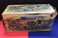 MEGO Catapult and Wagon BOX ONLY rare HTF missing 1 flap end Planet of the Apes