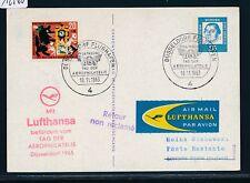12560) LH So-LP Düsseldorf - London GB/UK 10.11.63, PP Luther , Zeppelin