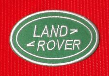 LAND ROVER RANGE 4x4 OFF ROAD RACE TEAM MOTOR SPORTS CAR BADGE IRON SEW ON PATCH