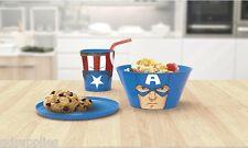 Marvel 53877 Service de table À Empiler Captain America (avengers)