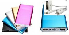 POWER BANKcarica  BATTERIA ESTERNA USB 100000mAh UNIVERSALE SMARTPHONE portatile