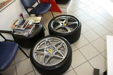 FERRARI ORIGINAL COFFEE TABLE WITH ORIGINAL WHEEL AND TYRE FOR FERRARI 599 FF