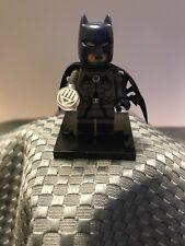 Custom DC Comic Superhero Lego Minifigure Batman Black Lantern