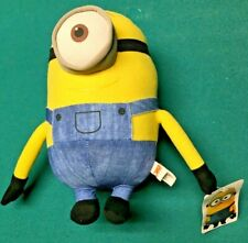 "10"" Minions One Eyed Plush Stuffed Toy 2016 Toy Factory"