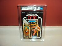 STAR WARS ROTJ VINTAGE LUKE SKYWALKER X-WING 77 BACK AFA 85 CANADIAN CANADA 1983