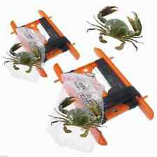 1 x Crabbing Line with CRAB NET On Reel Crab Bag Weight Fishing NO HOOKS SAFE