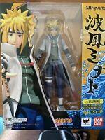 NEW S.H.Figuarts Naruto Shippuden MINATO NAMIKAZE Action Figure BANDAI F/S