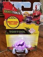 DINOTRUX Tortool Reptool Rollers Netflix Purple Turtle Tortoise Figure
