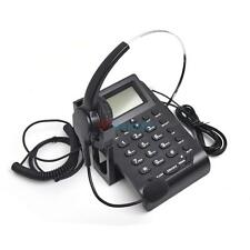 Business Telephone Headset Call Center Phone Dial pad With PC Recording Function