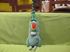 """2003 Nanco Spongebob Squarepants - Sheldon J. Plankton Soft Plush Toy 22"""" LARGE"""