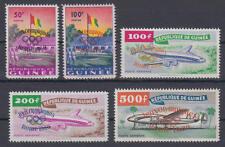 Guinea (Guinée) - Michel-Nr. 49-53 postfrisch/** (Olympische Spiele / Olympics)