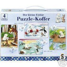 PUZZLE - Koffer 4 Puzzles Der kleine Eisbär 55293