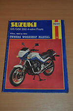 Haynes Reparaturanleitung SUZUKI GS7 GSX 500 4-valve Workshop Manual