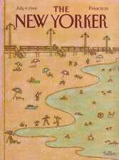 New Yorker COVER 07/09/1984 - At the Beach - TALLON