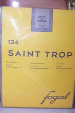 FOGAL $45 Saint Trop  Pantyhose NIP Blanc Hiver  S